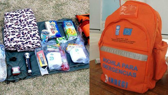 ¿Cómo alistar una mochila de emergencia en caso de terremoto en Perú?