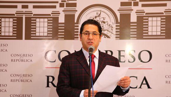 Salvador Heresi es integrante de la Comisión Permanente. Presentó dos recursos contra el cierre del Congreso. (Foto: Congreso)