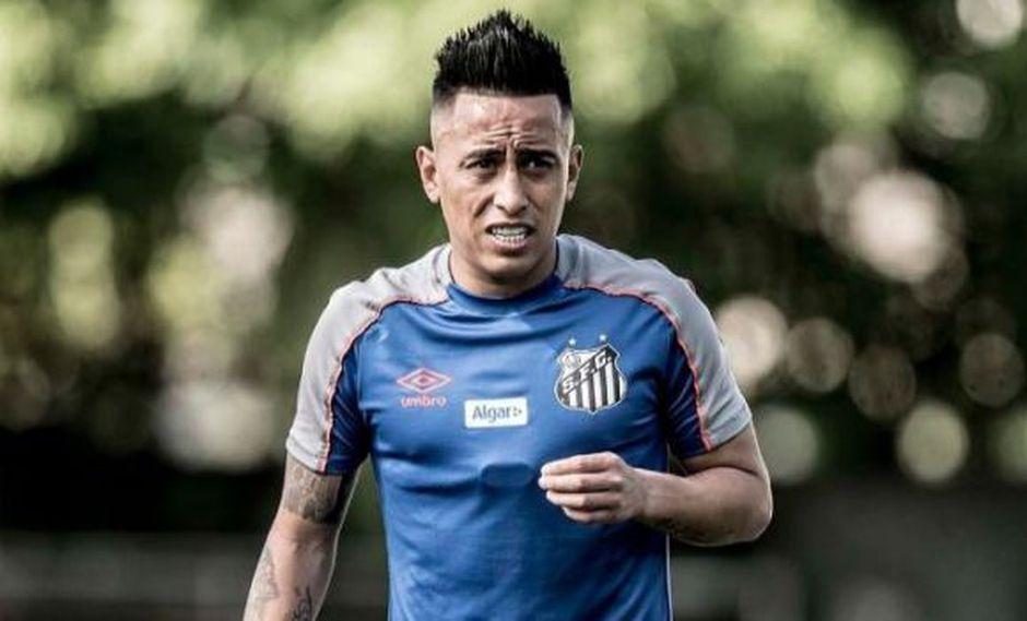 Christian Cueva llegó al Santos en febrero del 2019, procedente de Krasnodar. (Foto: Santos FC)