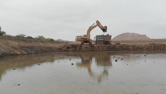 Lambayeque: Reanudan limpieza en dos lagunas para mejorar calidad de agua potable (Foto: OTASS)