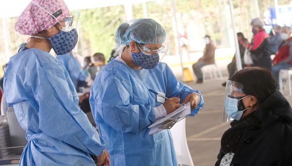 Las brigadas de salud están ubicadas en el Parque de la Exposición en el Cercado de Lima. (Foto: Municipalidad de Lima)