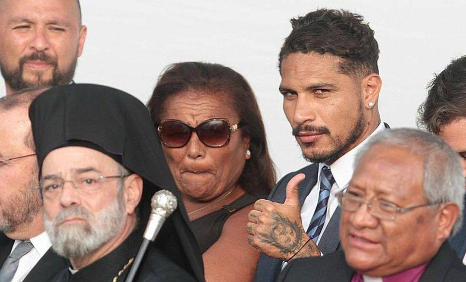 Paolo Guerrero, Doña Peta y su familia invitan hoy a la misa por su vuelta al mundial