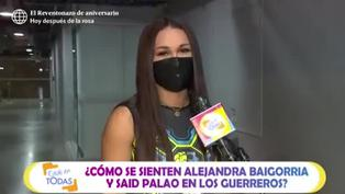 """Angie Arizaga le 'echa flores' a Alejandra y Said: """"Han sumado muchísimo en el equipo"""""""