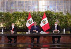 """Martín Vizcarra: """"Con este nuevo gabinete renovado cumpliremos los objetivos planteados"""""""