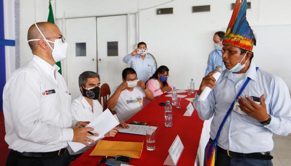 Loreto: El primer Comando COVID-19 Indígena está integrado por los ministerios de Salud y Cultura, el Gobierno Regional de Loreto y los representantes de diferentes las comunidades nativas. (Foto Minsa)