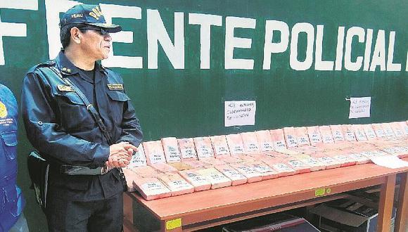 Cusco: incautan más de 100 paquetes de cocaína en tráiler rumbo a Arequipa