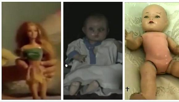 Facebook: ¡Annabelle no es la única! Cinco muñecas que se mueven solas (VIDEO)