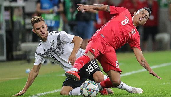 Selección peruana perdió 2-1 en amistoso FIFA frente a Alemania