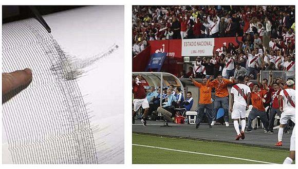 Peruanos provocamos temblor tras gol de Jefferson Farfán