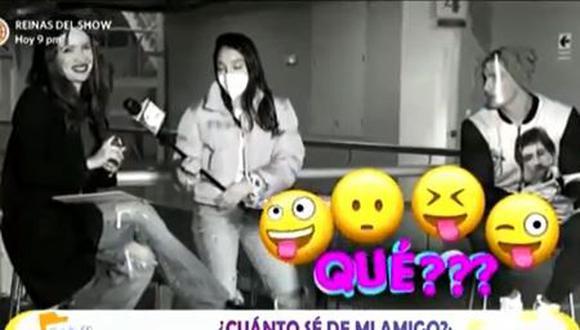 ¿Rosángela Espinoza y Facundo González viajarán juntos? (Foto: captura de video)