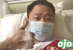 "Kenji Fujimori: ""Voy ganándole la batalla al COVID-19"" | FOTO"