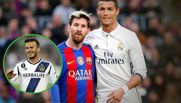 David Beckham pretende a Cristiano Ronaldo y Lionel Messi para su nuevo club