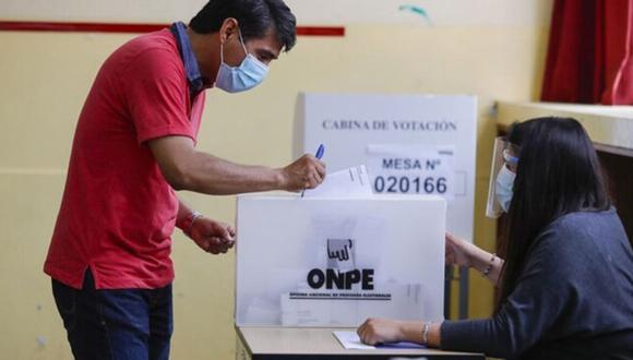 Las Elecciones Generales en Perú se realizarán el próximo 11 de abril de 2021 (Foto: ONPE)