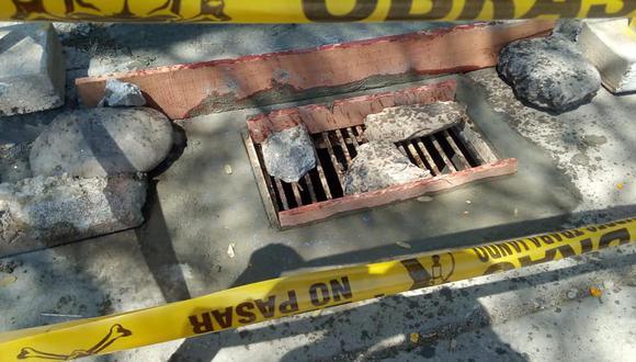 Huánuco: Reponen tapas de buzones robadas y otras deterioradas (Foto: Municipalidad de Huánuco)
