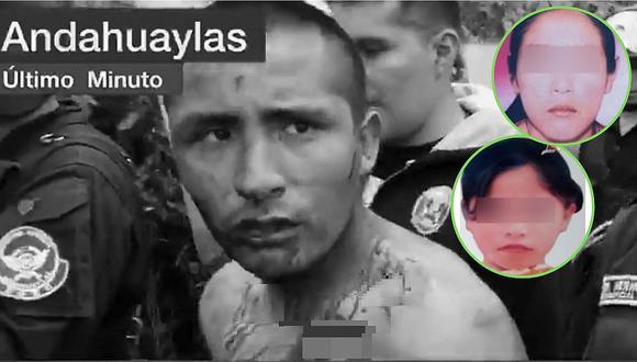 """La confesión del violador de dos niñas en Andahuaylas: """"me obligaron"""" (VÍDEO)"""