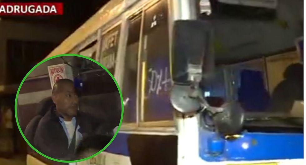 Seis delincuentes se suben a cúster en SMP y dejan a pasajeros sin nada (VIDEO)
