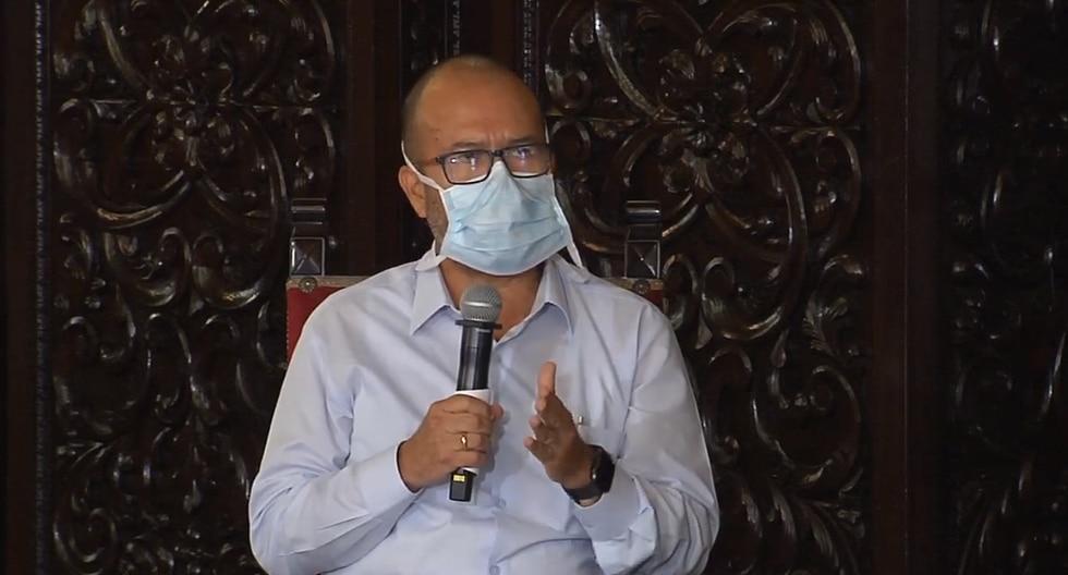 El ministro indicó que los últimos fallecidos por coronavirus estaban seriamente comprometidos. (Foto: Presidencia)