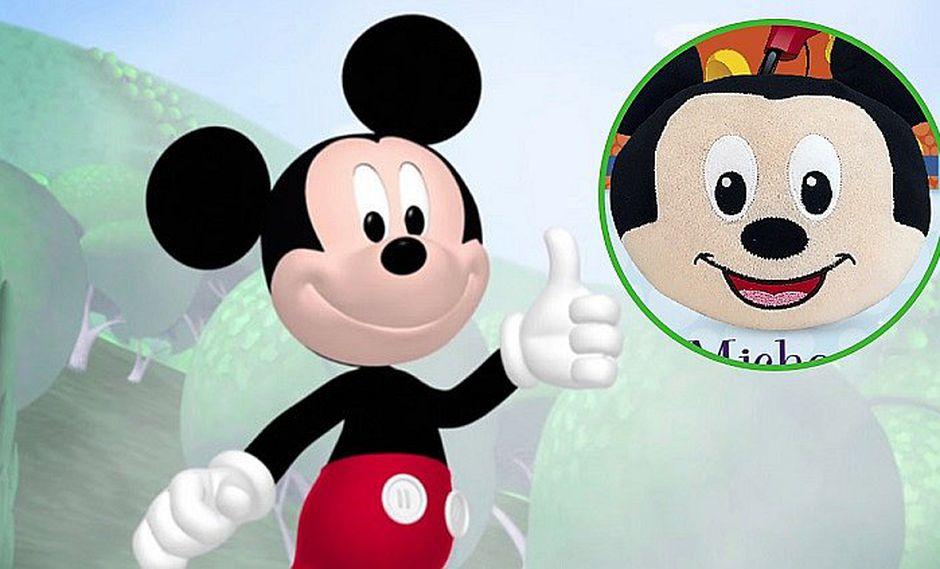 Cuentos para ir a dormir Disney: hoy no te pierdas la almohadita de Mickey Mouse