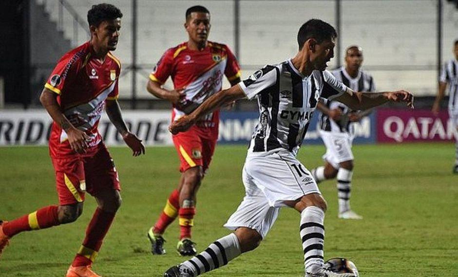 Sport Huancayo empata 1-1 ante Wanderers y ya no continuará en la Copa Sudamericana