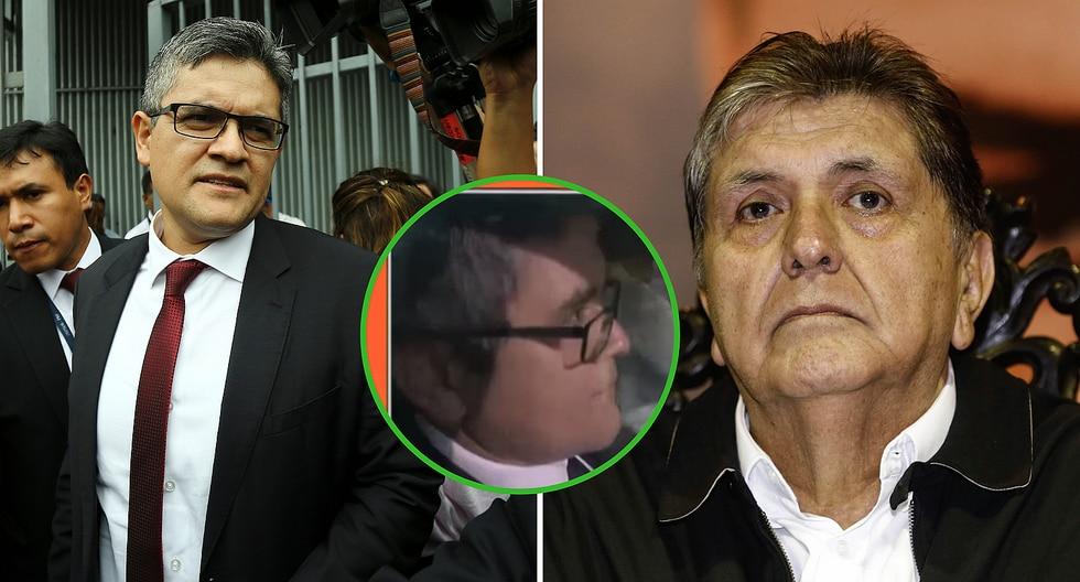 La reacción del fiscal José Domingo Pérez cuando le preguntan por muerte de Alan García (VIDEO)