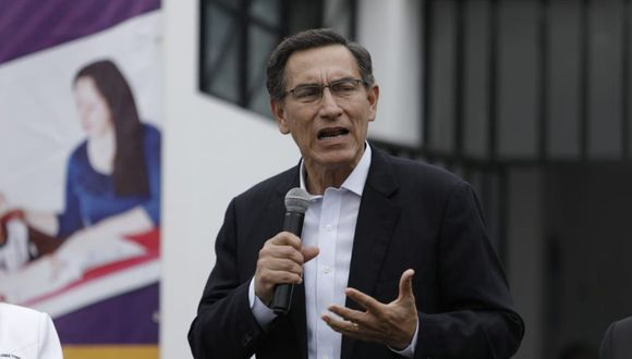 Martín Vizcarra compartió sus condolencias a los familiares del exsecretario general de las Naciones Unidas Javier Pérez de Cuéllar. (Foto: GEC)
