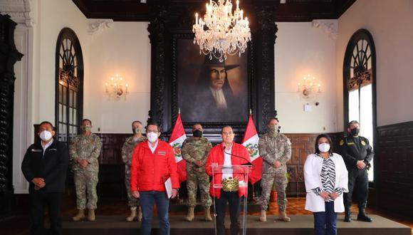 Ministros rechazaron actitud de Manuel Merino. (Foto: PCM)