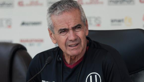 Gregorio Pérez dirigió diez partidos oficiales con Universitario.  (Foto: GEC)