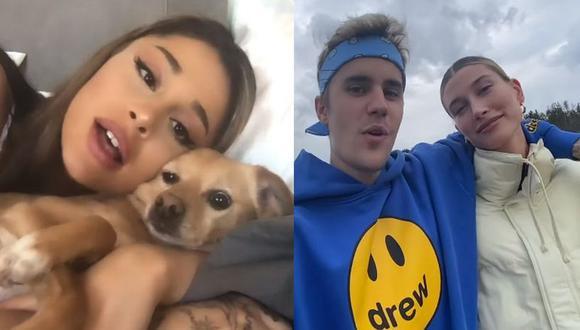 """Ariana Grande y Justin Bieber lanzan """"Stuck With U"""", su canción para contribuir en lucha contra el coronavirus. (Foto: Captura de video)"""