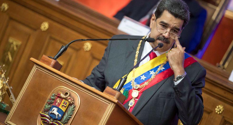 Maduro señaló que si  se levantan las sanciones de EE.UU., las compañías petroleras estadounidenses podrían beneficiarse enormemente del petróleo de Venezuela. (Foto: EFE)