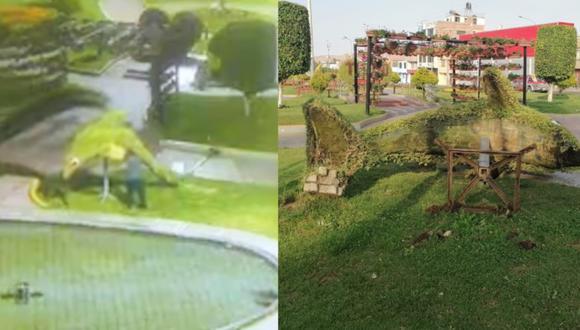 Cámara registraron todo lo ocurrido en plena inmovilización social. (Foto: Municipalidad de Tacna)