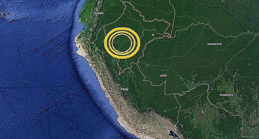 Loreto: sismo de magnitud 4.2 se registró en Pastaza, Loreto