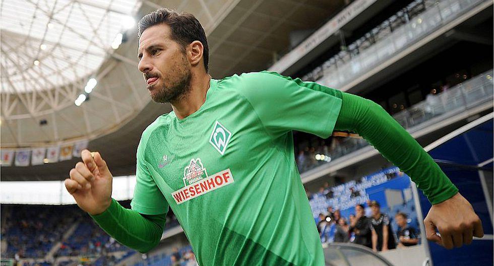 Claudio Pizarro fue anunciado como nuevo jugador del Werder Bremen