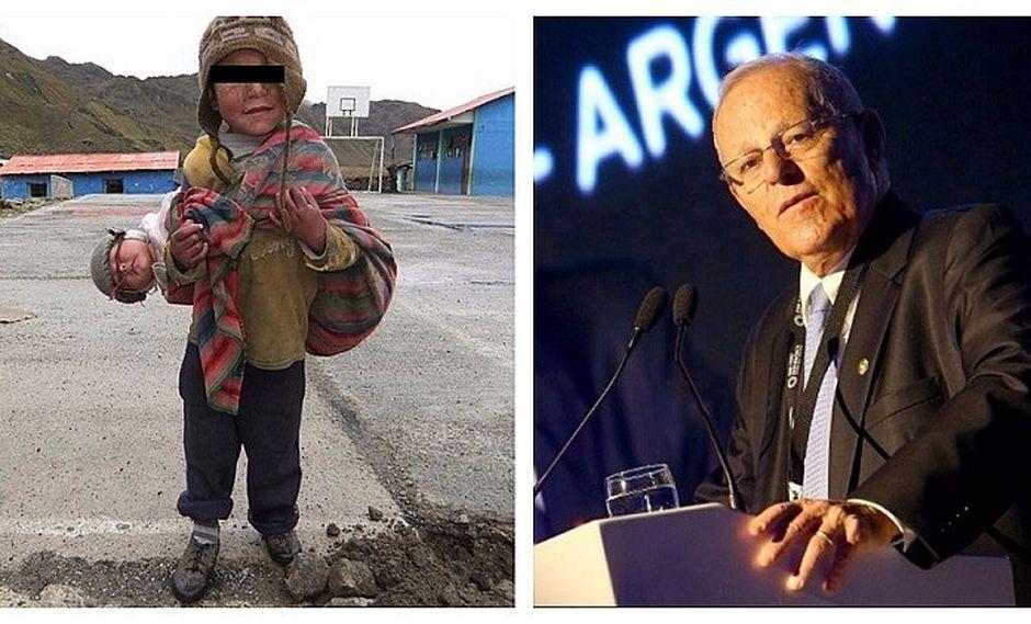 ¿Qué es lo que dijo PPK sobre la pobreza en Perú?
