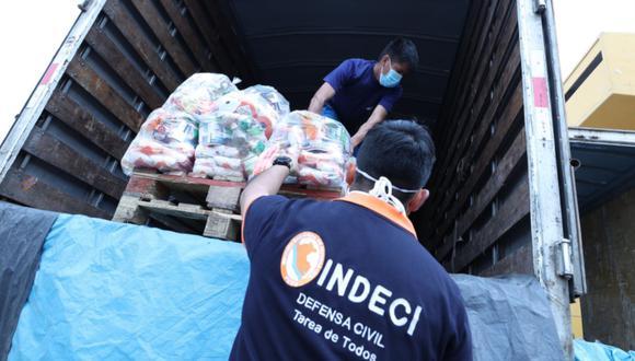 Indeci garantiza ayuda humanitaria a personas en situación de vulnerabilidad pese a robo en su almacén central en el Callao. (Foto: Indeci)