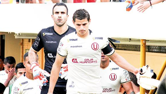 José Carvallo envió mensaje de respaldo a Aldo Corzo. (Foto: Liga 1)