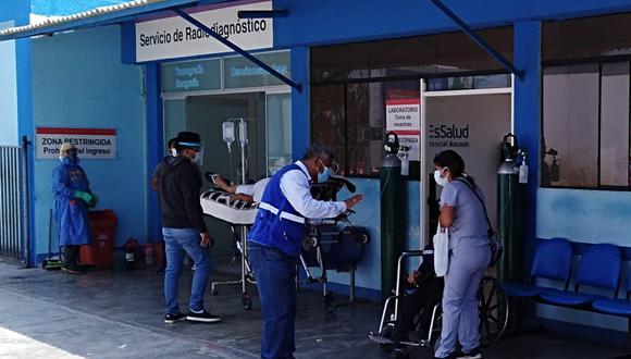 Áncash: reportan aumento de familias que han sido internadas por COVID-19 (Foto: EsSalud)