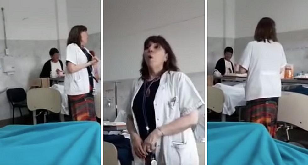 Pacientes son alentados por doctora que les canta en ...
