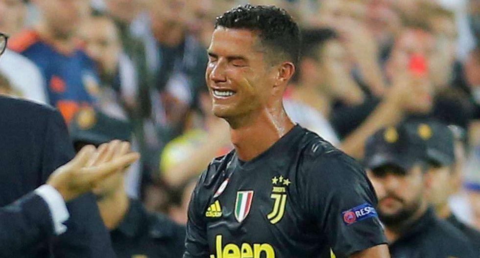 Cristiano llora, mientras su Juventus, Madrid y United ganan en Liga de Campeones