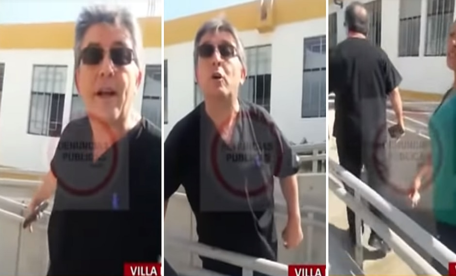 Médico grita e insulta a paciente que le reclamó por no atender emergencia (VIDEO)