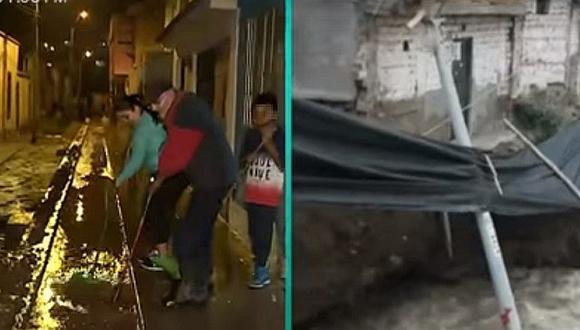 Familias de Chosica son evacuadas tras crecida del río Rímac (VIDEOS)