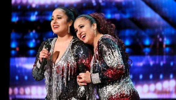 """Andrea e Irene Ramos representan a Perú en """"America's Got Talent"""". (Foto: America's Got Talent)"""