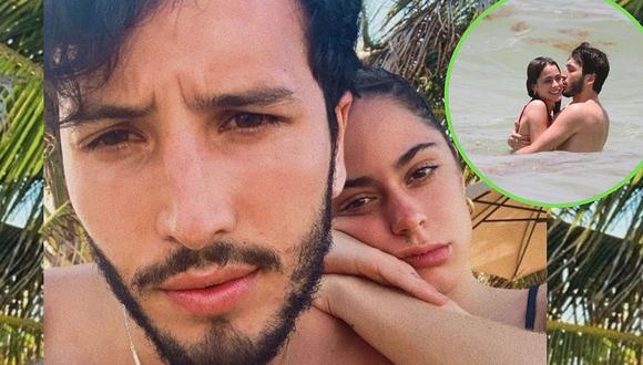 Sebastián Yatra y Tini: Así de apasionados los captaron en paradisíaca playa de México │FOTOS