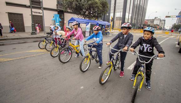 Regresan los días de bicicleta y caminata en el Centro de Lima. (Difusión)