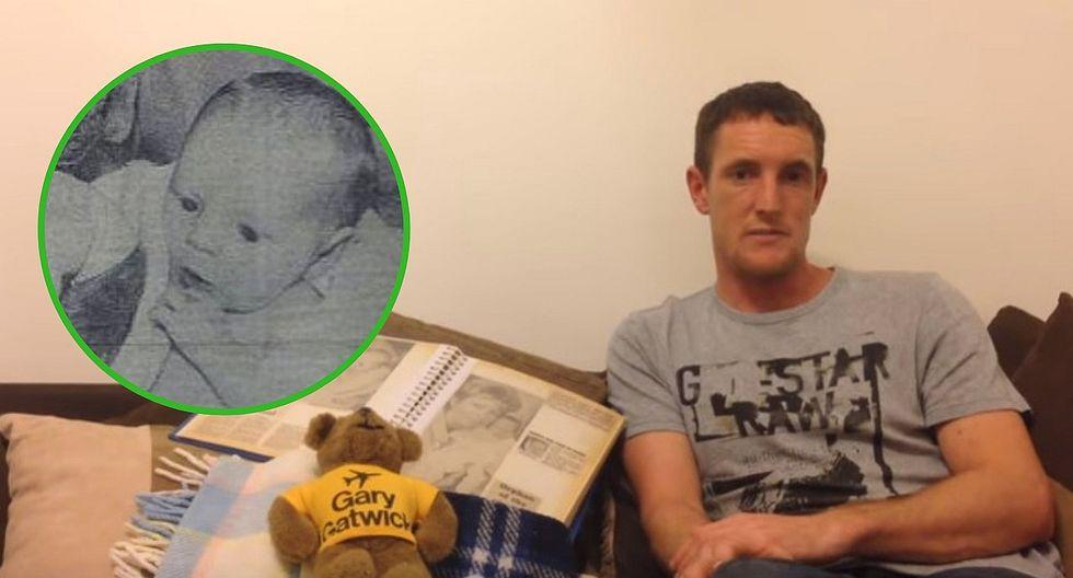 Hombre que fue abandonado cuando era un bebé se reencuentra con su familia biógica