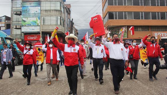 Perú Libre fue fundado por Vladimir Cerrón. En los últimos días, el actual candidato presidencial del partido, Pedro Castillo, ha intentado marcar distancia de él. (Foto: Facebook)