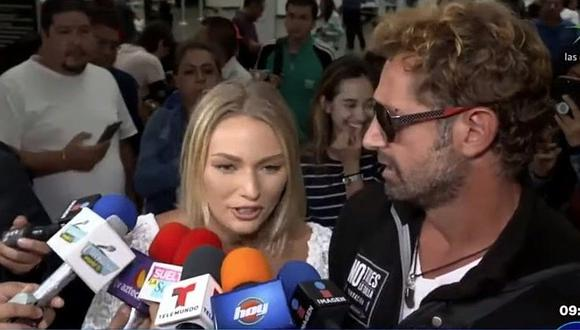 """Irina Baeva se defiende tras escándalo que protagonizó Gabriel Soto al abandonar """"El Gordo y la Flaca"""""""
