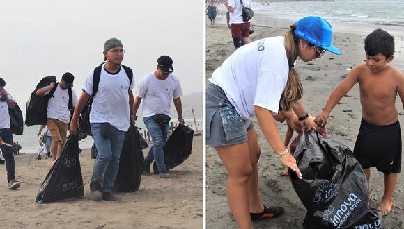 Voluntarios recogen más de 300 kg de basura en playas de Ancón (FOTOS)
