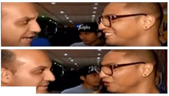 Jonathan Maicelo fue increpado por Metiche y boxeador sorprendió con su reacción