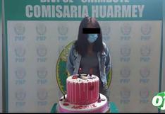Áncash: Cumpleañera arma fiesta y acaba en comisaría junto con su torta