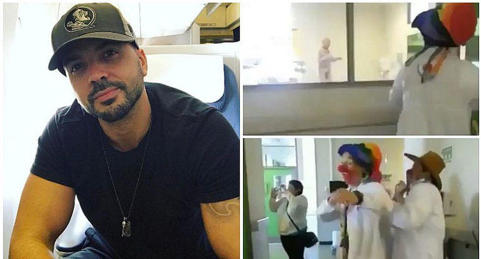 """Luis Fonsi no pudo contener las lágrimas al ver a niña con cáncer bailando """"Despacito"""""""